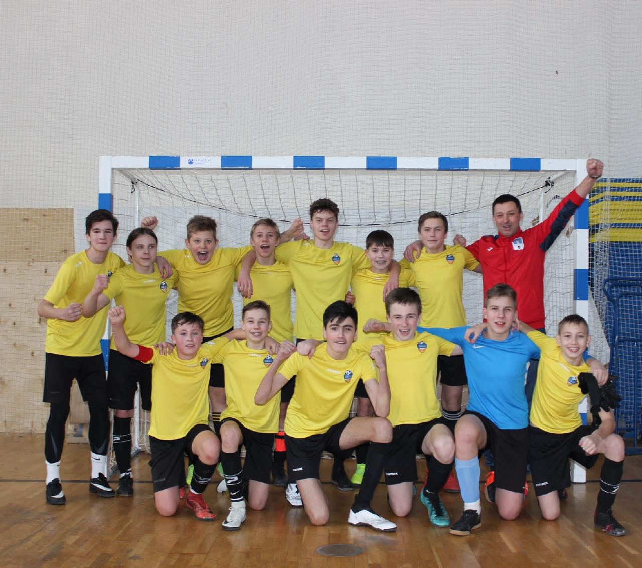Команда юношей 2007 г.р. чемпион Московской области по мини-футболу!