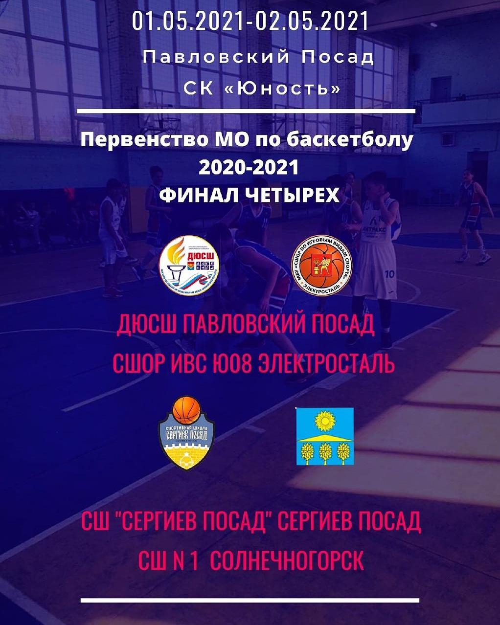 Финал четырёх Первенства Московской области по баскетболу 2008 г.р.