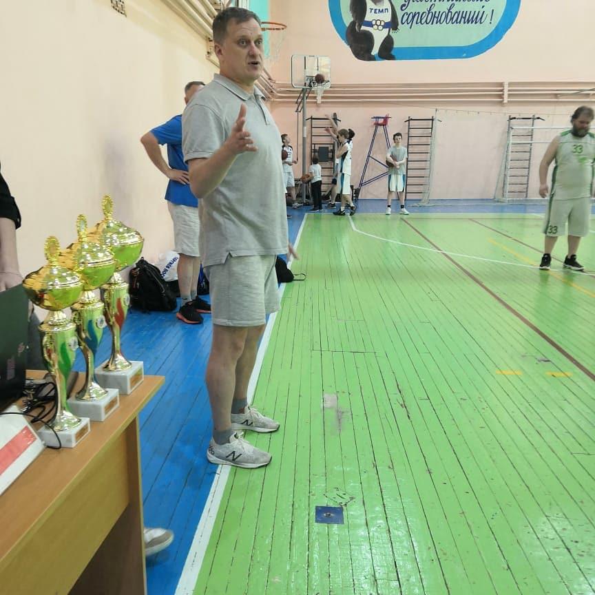 Открытый турнир СШ «Сергиев Посад» по баскетболу среди мужских команд