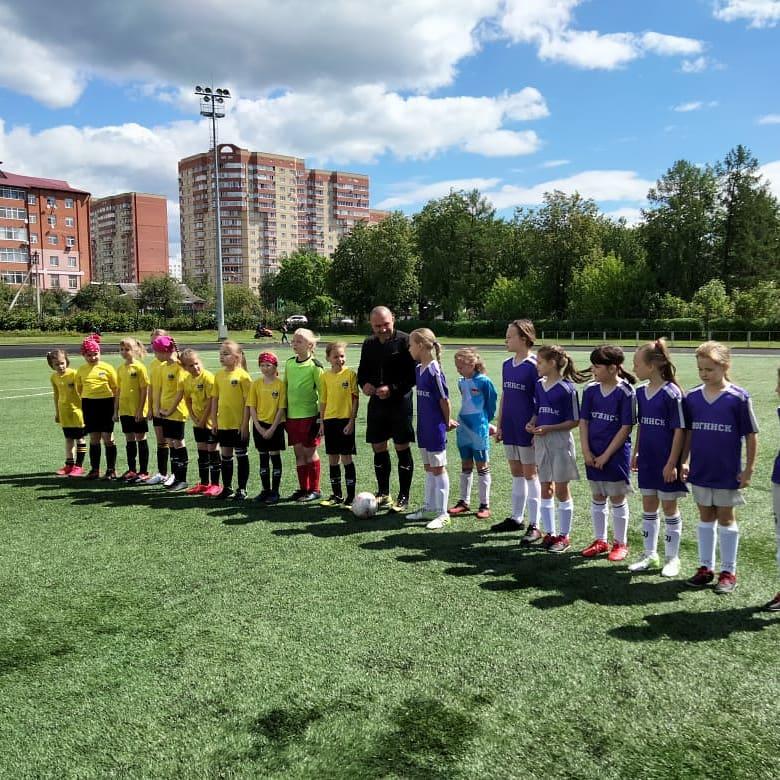 Первенство МО по футболу среди девочек 2011-12 г.р.