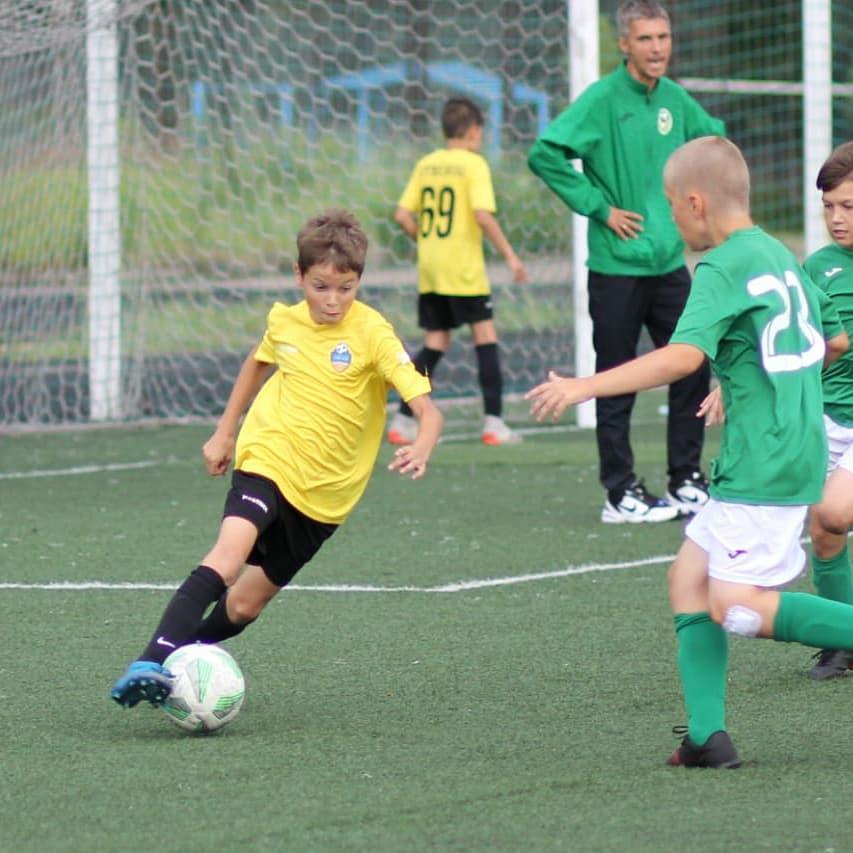 9 тур Первенства МО по футболу. Дети