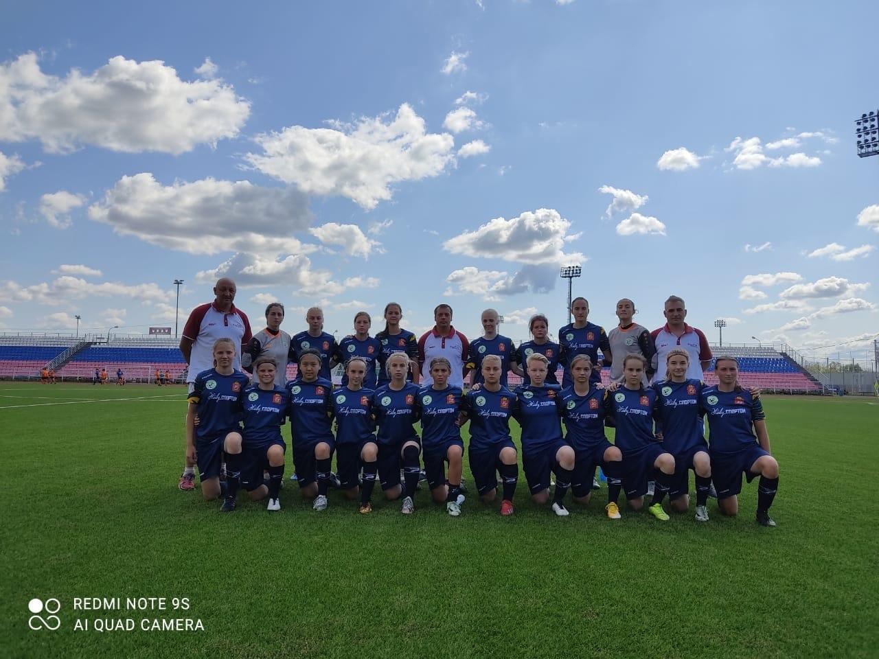 Финальный этап V Спартакиады среди девушек 2004-05 г.р. России 2021 года.