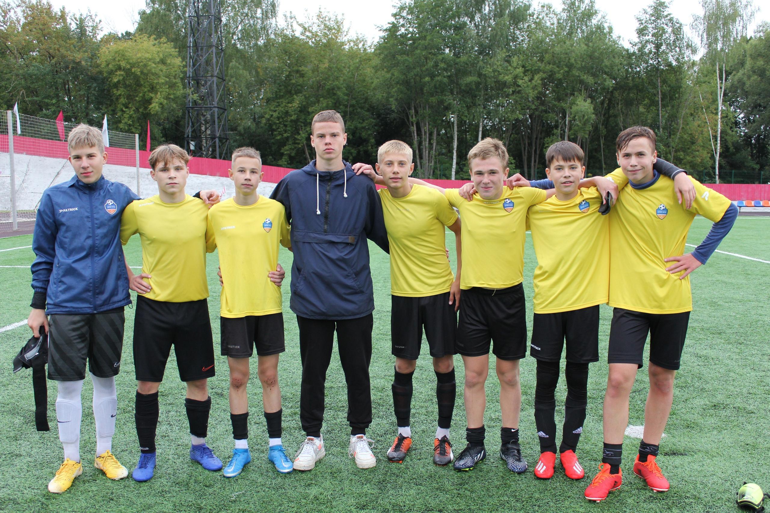 Две победы привезли наши футболисты из Ивантеевки