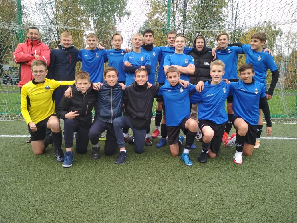 Победа в Первенстве Московской области по футболу юношей 2007 г.р.